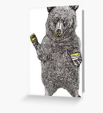 Oh, Hi Bear! Greeting Card