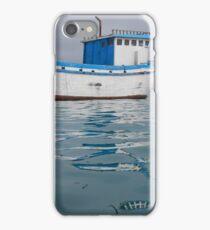 Fishing Boat - San Cristobal Island, Ecuador iPhone Case/Skin
