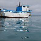 Fishing Boat - San Cristobal Island, Ecuador by David Galson