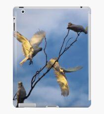 Cockies in a tree iPad Case/Skin
