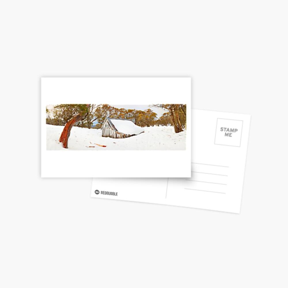 Snowed In, Wallace Hut, Falls Creek, Victoria, Australia Postcard
