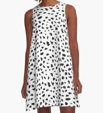 pattern_dalmation A-Line Dress