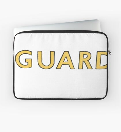 The Guard  Laptop Sleeve