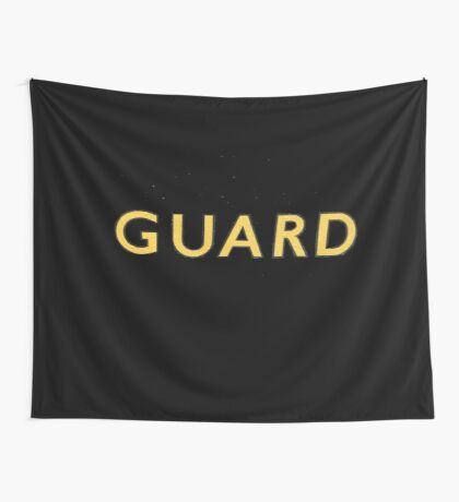 The Guard  Wall Tapestry