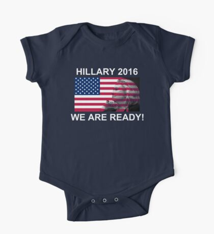 Hillary Clinton for President 2016 We Are Ready! Kids Clothes