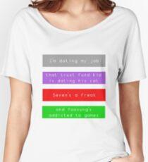 Mystic Messenger | No Girlfriends Women's Relaxed Fit T-Shirt