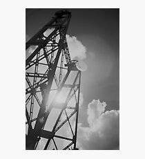 Vertical Truss Photographic Print