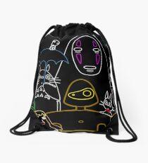 Ghibli mix v2 Drawstring Bag