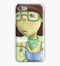 cute women iPhone Case/Skin