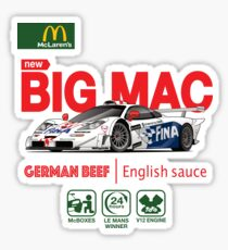 McLaren F1 GTR Sticker