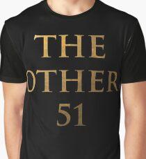 Hamilton - Die anderen 51 (Invertiert) Grafik T-Shirt