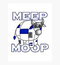Meep Moop v1 Photographic Print