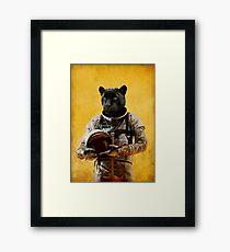 Space Jag Framed Print