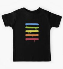 Trendy Cool Graffiti Tag Lines Kids Clothes