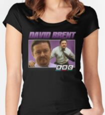 David Brent 90s Tee Women's Fitted Scoop T-Shirt