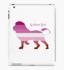 "Lesbian ""lesbian lion"" iPad Case/Skin"