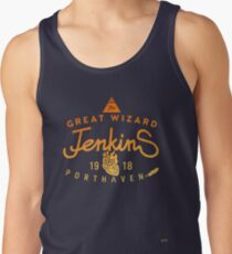 THE GREAT WIZARD JENKINS - burning heart Tank Top