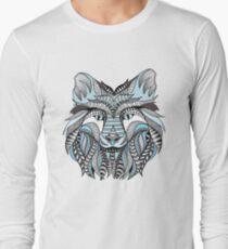 Camiseta de manga larga Lobo de invierno
