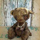 Handmade bears from Teddy Bear Orphans - Master Cecil, a vintage bear by Penny Bonser