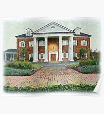 Colonial Revival Style Poster