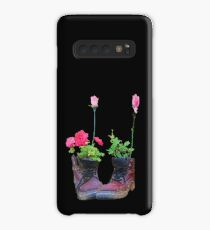 Old shoes with flowers Case/Skin for Samsung Galaxy