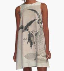 African Scenery and Animals Samuel and William Daniell 1804 0009 Zebra and Vultures Dedication_jpg A-Line Dress