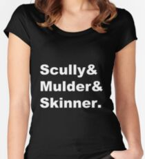 The X-Files Women's Fitted Scoop T-Shirt