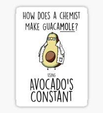 Avocado's Constant Sticker