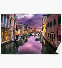 Venedig, Italien Poster