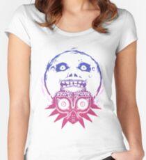Majora's mask - Colour Gradient  Women's Fitted Scoop T-Shirt