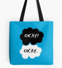 The Fault In Our Stars Clouds Tote Bag