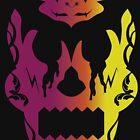 Bloody Sugar Skull Alt by Daniel Bevis