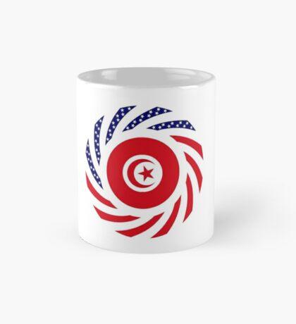 Tunisian American Multinational Patriot Flag Series Mug