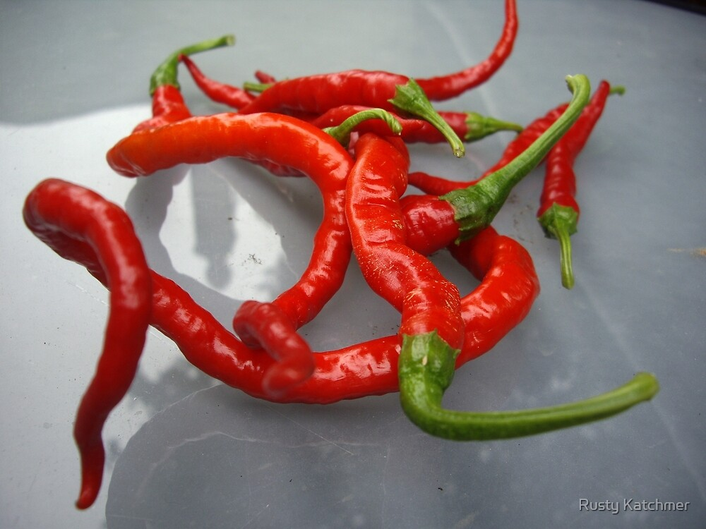 Evil Peppers by Rusty Katchmer