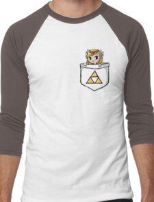 Legend Of Zelda - Pocket Zelda Men's Baseball ¾ T-Shirt