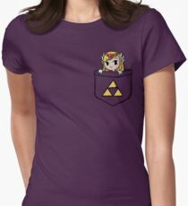 Legend Of Zelda - Pocket Zelda Women's Fitted T-Shirt
