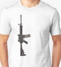 AR-15 M4 ASSAULT RIFLE Unisex T-Shirt