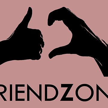 Friendzone (black text) by dasilvawolfgang