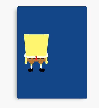 Minimalist Sponge Canvas Print