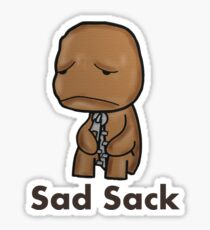 Sad Sack Sticker