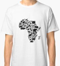 Tiere von Afrika Classic T-Shirt