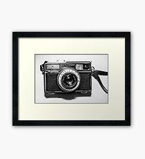1970s German Vintage/Retro Camera by Karl Zeiss Framed Print