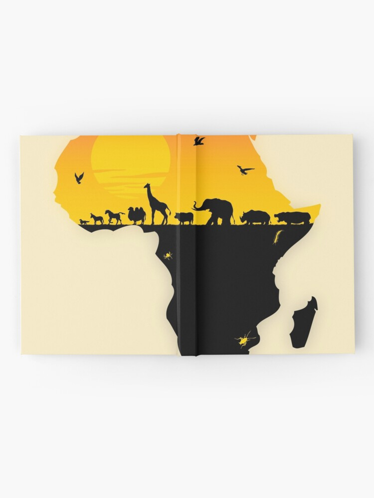 Alternate view of Africa Hardcover Journal
