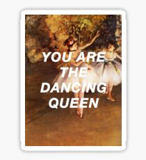 Degas 'Dancing Queen Sticker