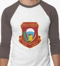 Iraqi Special Operations Forces (ISOF) - قوات العمليات الخاصة العراقية‎ Men's Baseball ¾ T-Shirt