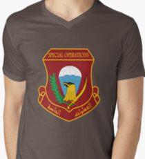 Iraqi Special Operations Forces (ISOF) - قوات العمليات الخاصة العراقية Men's V-Neck T-Shirt