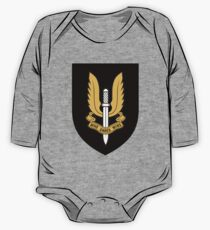 Special Air Service (Gold - Black Shield) One Piece - Long Sleeve