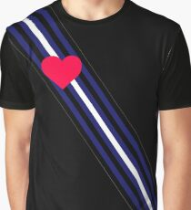 Leather Pride Sash Graphic T-Shirt