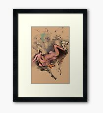 Become Human Again Framed Print