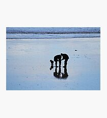 East Yorkshire Beach Discovery Photographic Print